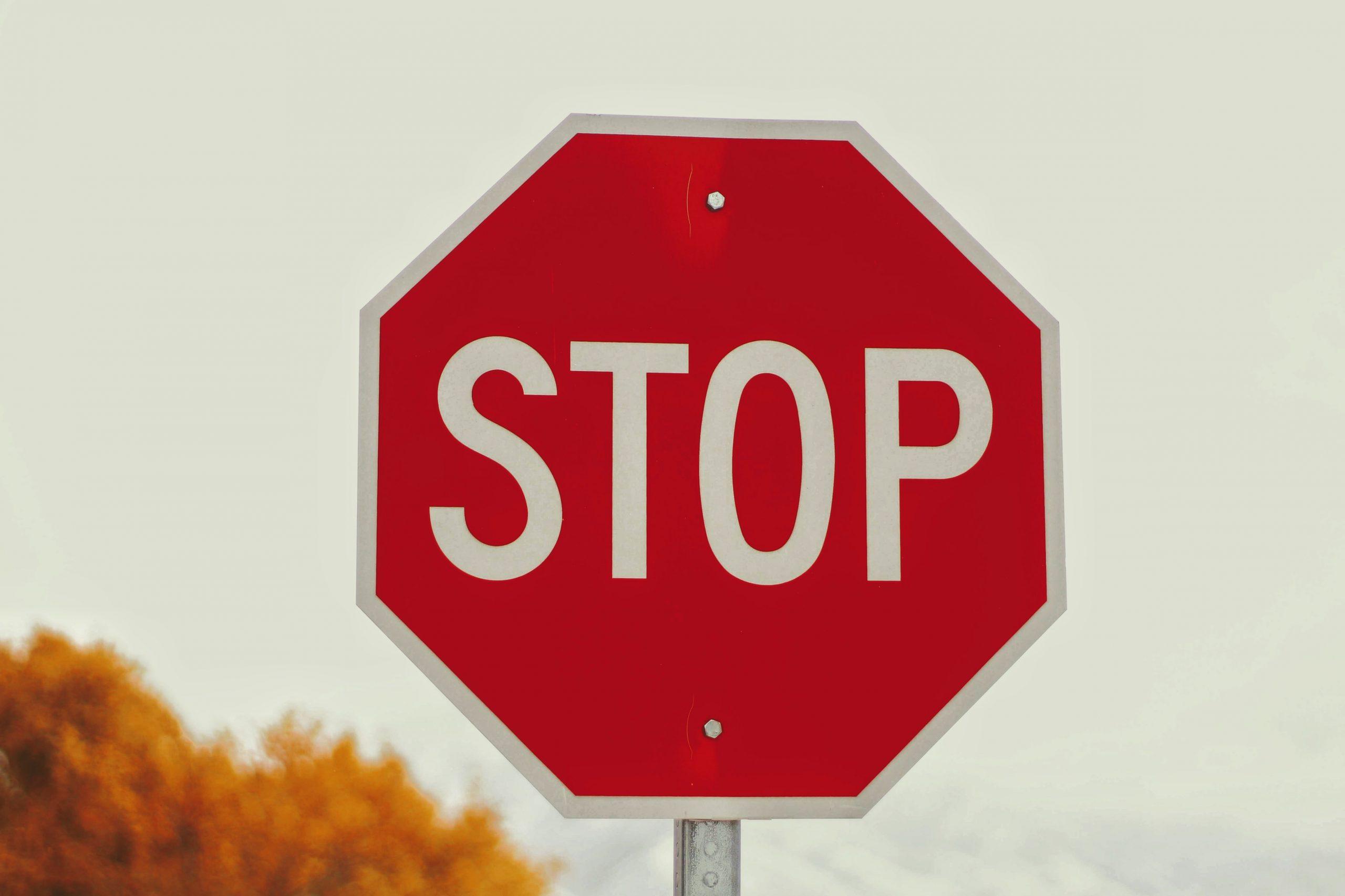 signe stop